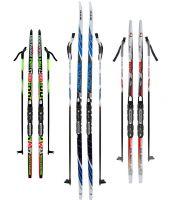 Купить лыжный комплект с ботинками в Москве, распродажа комплектов ... 08e6af0a101